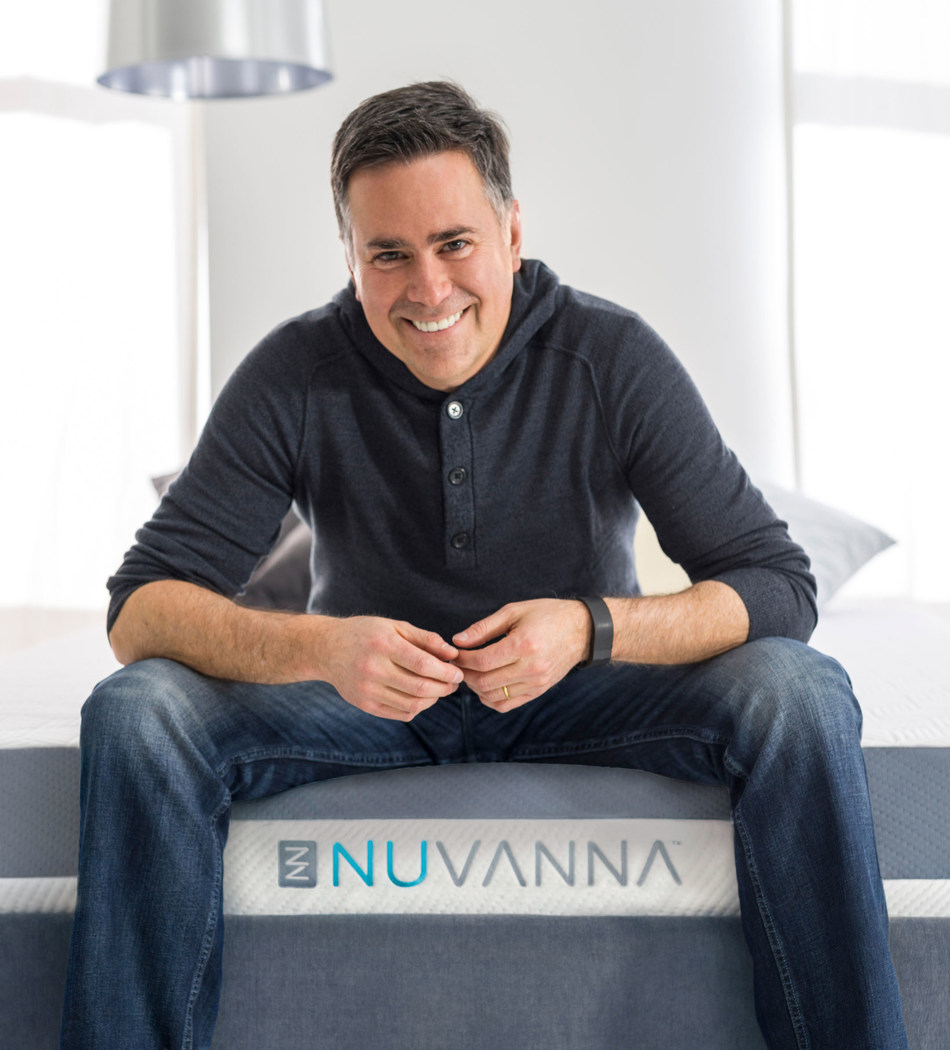Foam science innovator Alvaro Vaselli launches Nuvanna LLC, combines his leadership and technical expertise with his personal experiences to change the way people think about sleep (PRNewsFoto/Nuvanna LLC)