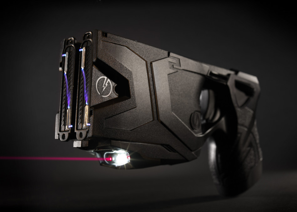 The TASER(R) X26P(TM) Smart Weapon. The use of TASER Conducted Electrical Weapons (CEWs) and Smart Weapons have saved more than 177,000 lives from potential death or serious injury.  Photo courtesy of TASER International, Scottsdale, AZ.