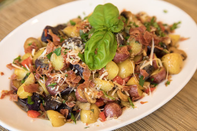 Tuscan-Herbed Roasted Potatoes available at PotatoGoodness.com.
