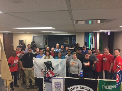 Warriors got together for a game night in Chicago, hosted by Stack Up and Wounded Warrior Project.