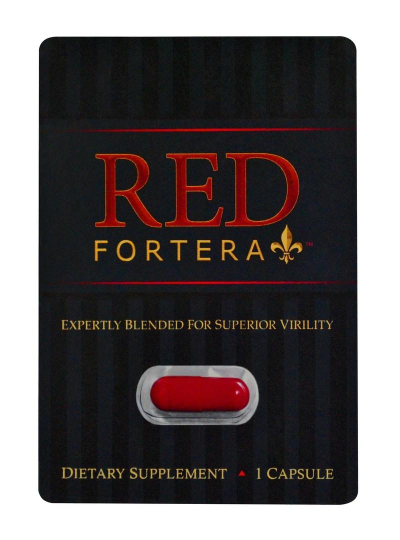 Red Fortera Virility Supplement