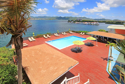 Stunning views from the Summit pool deck