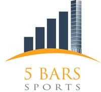 5 Bars Sports Logo