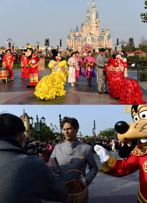 Shanghai Disney Resort Marks its First Chinese New Year with Guests from Home and Abroad