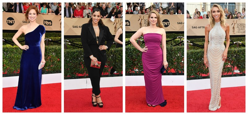 Ellie Kemper, Dascha Polanco, Anna Chlumsky, and Giuliana Rancic Sparkle in Forevermark Diamonds at the 23rd Annual Screen Actors Guild Awards