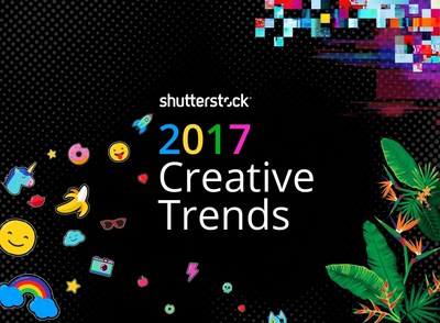 Creative Trends Report by Shutterstock Defines Visual Design in 2017