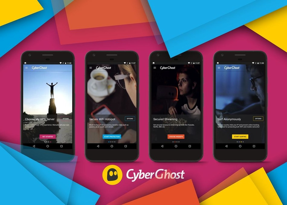 CyberGhost 6.0 for Android: The complete one-click VPN solution for mobile security and privacy