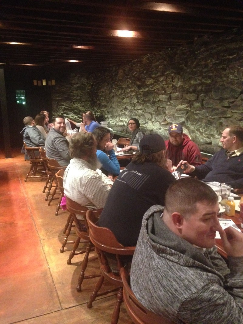 Veterans recently connected at a recurring Wounded Warrior Project(R) (WWP) dinner and trivia event.