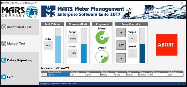 MARS Meter Management (M3) 2017 Enterprise Software Suite
