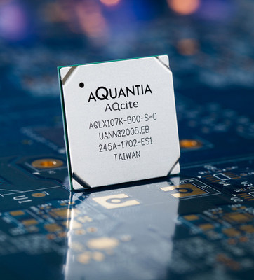 Aquantia Announces the Industry's First FPGA-Programmable Multi-Gigabit Ethernet PHY Device