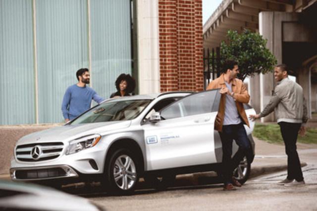 Toronto et Vancouver seront les premières villes canadiennes à recevoir en février des CLA et des GLA 2017 de Mercedes-Benz ; des villes canadiennes et américaines additionnelles pourront prendre la route avec style en 2017. (Groupe CNW/Mercedes-Benz Canada Inc.)