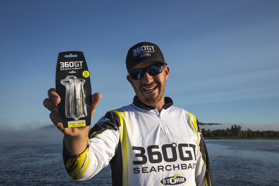 Designed to be fished anywhere by anglers of all skill levels, the Storm(R) 360GT Searchbait(TM) is the ultimate confidence lure, according to Jacob Wheeler, winner of FLW's 2012 championship tournament. Creating the ultimate illusion of natural movement, the 360GT Searchbait pairs a lifelike, single-ball rattling jig head with a realistic, phthalate-free soft body with 3D holographic eyes and a toe-in boot tail that elicits incredible action at any retrieve speed.