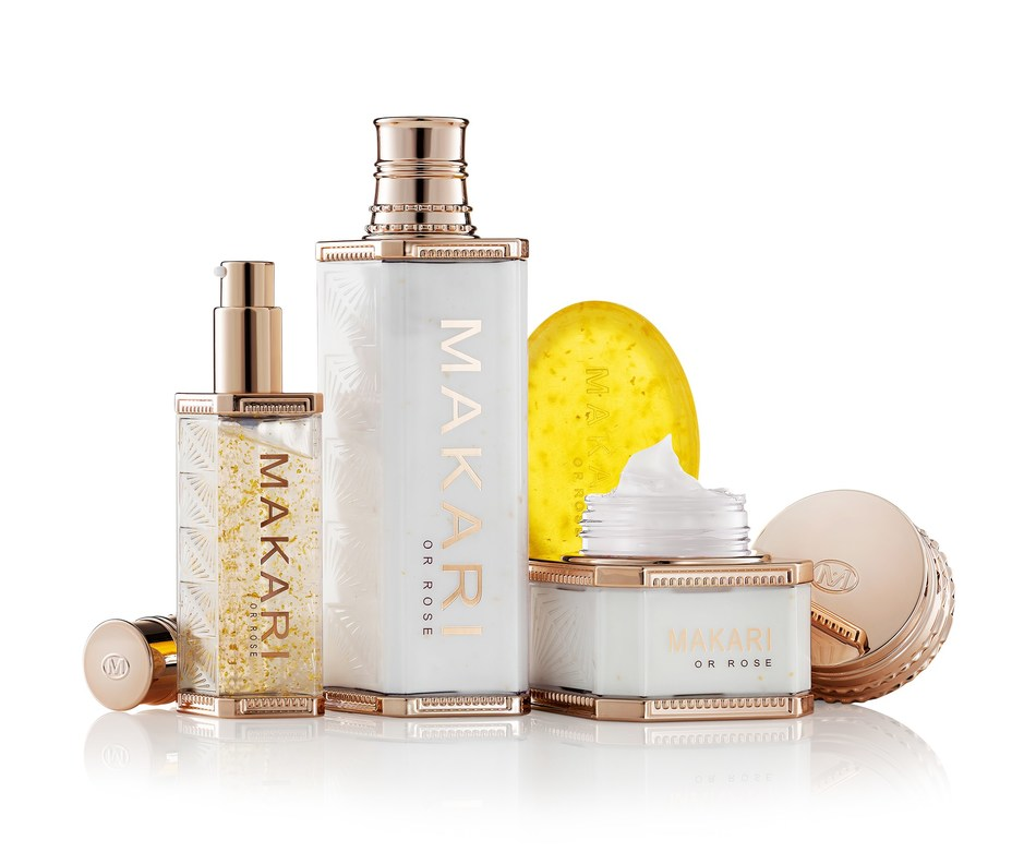 Makari Or Rose 24K Gold Skin Care Collection.