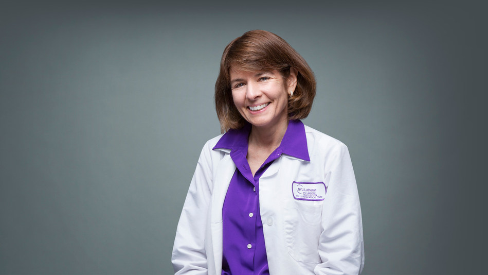 Jeanne Carey, MD, leads the infectious diseases team at NYU Lutheran in Brooklyn.