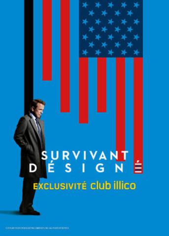 Affiche officielle de la série Survivant Désigné (Groupe CNW/Vidéotron)