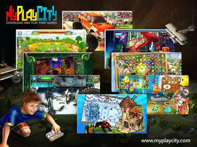 Download Free Games - 100% Free PC Games at MyPlayCity.com (PRNewsFoto/MyPlayCity Inc.)