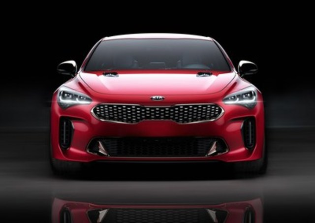 The all-new 2018 Kia Stinger GT will make its national debut in Toronto at the Canadian International Auto Show, February 16 (CNW Group/KIA Canada Inc.)