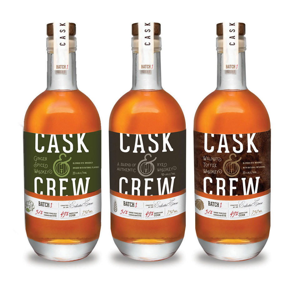 LiDestri Launching Cask & Crew Premium Straight + Flavored Whiskey