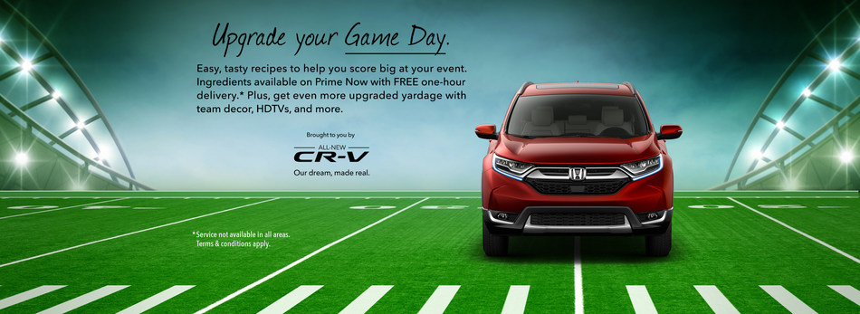 "Honda ""Upgrade"" Offers Tasty Treats During the Big Game"