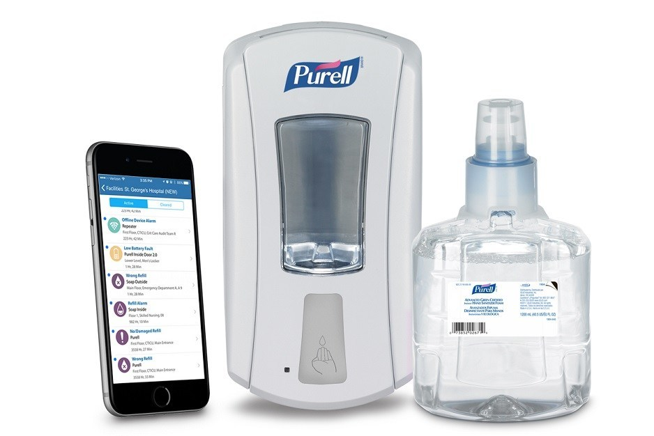 SMARTLINK(TM) Service Alerts are designed to provide a healthcare facility's staff with real-time monitoring of refill status, battery life, communication and dispenser status for GOJO dispensers.
