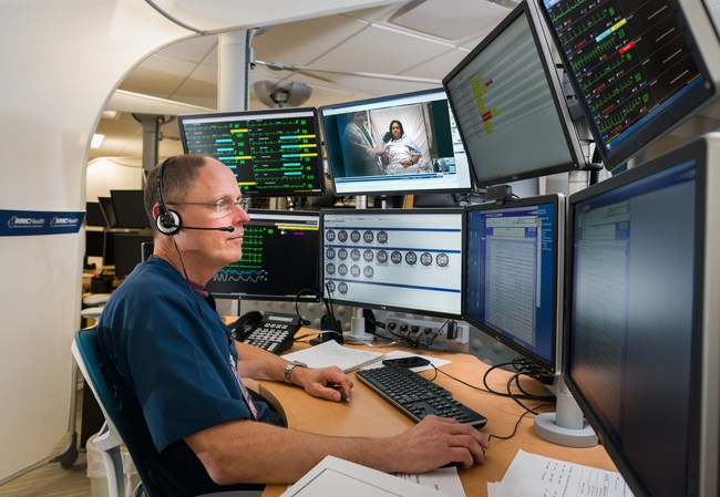 Westchester Medical Center Health Network medical and clinical specialists monitor patients from WMCHealth's 5,500-square-foot eHealth operations center. The specialists complement, and do not replace, the dedicated healthcare teams at HealthAlliance Hospital in Kingston.