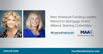 New American Funding Leaders Named to Mortgage Action Alliance Steering Committee.