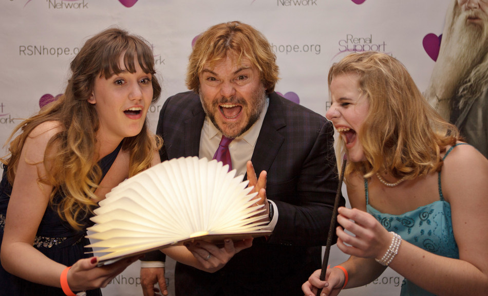 Jack Black and Renal Teen Prom Guest at the 18th Annual RSN Renal Teen Prom
