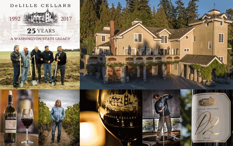 DeLille Cellars, Woodinville, Washington Winery Celebrates 25 Years