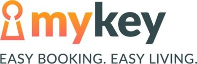 MyKey. Easy Booking. Easy Living. (CNW Group/MasterKey Alliance)