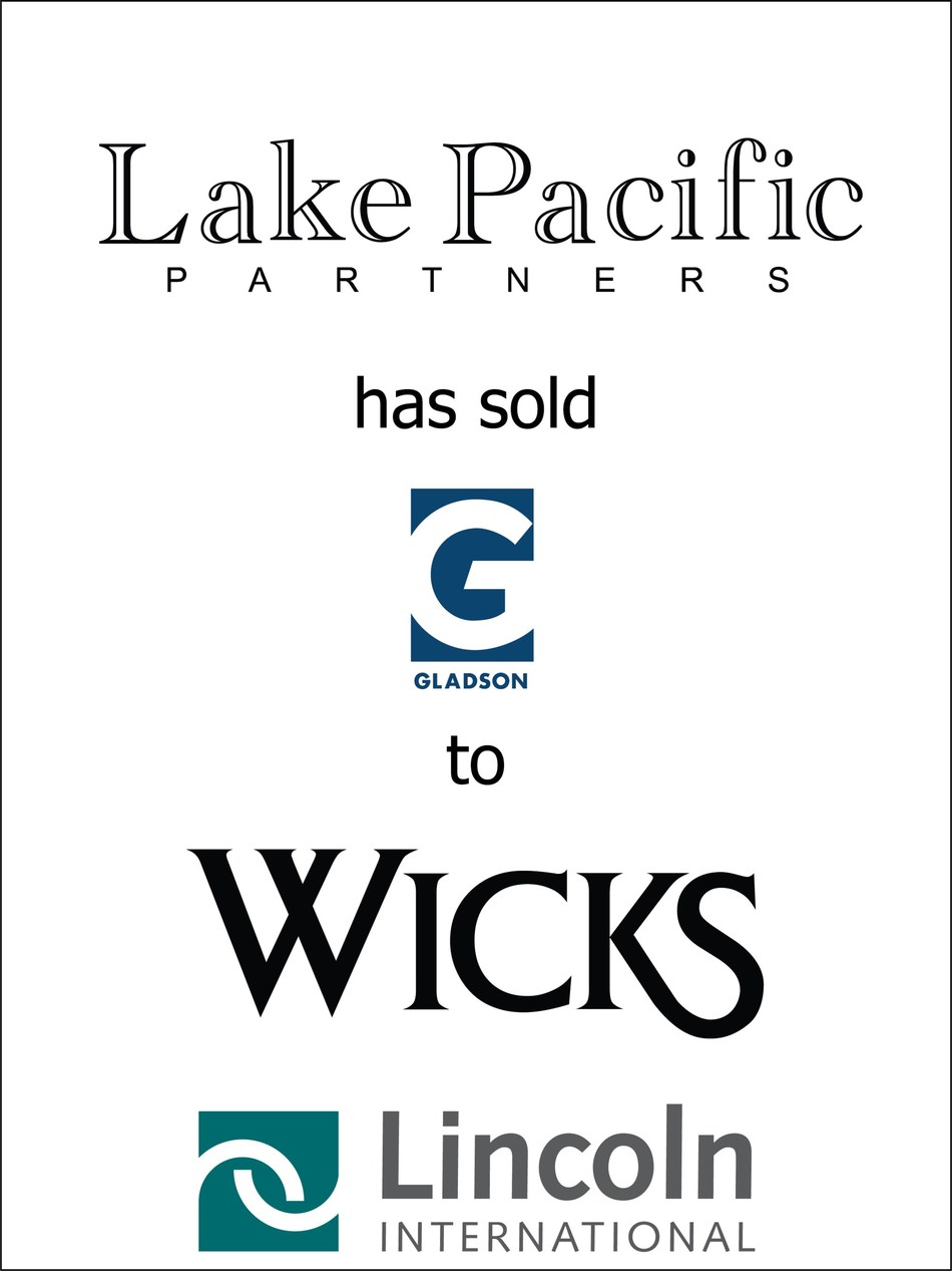 Lincoln International represents Lake Pacific in the sale of Gladson Holdings to The Wicks Group