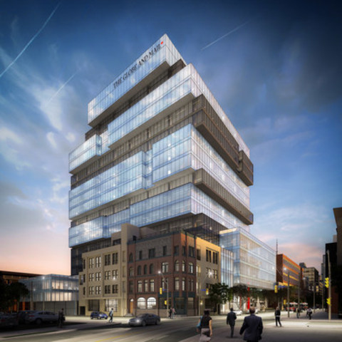 Opening Soon: The Globe and Mail Centre, a state-of-the-art space for leadership, innovation and design (CNW Group/The Globe and Mail)