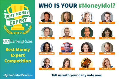 Who is your #MoneyIdol? Tell us with your daily vote this February!
