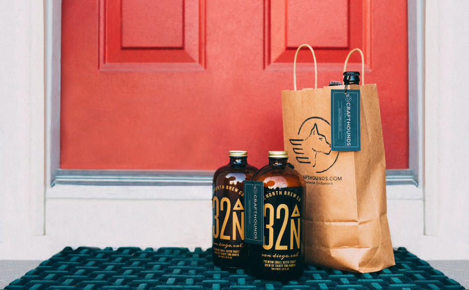CraftHounds delivers craft beer to your door in minutes from breweries and stores across the city.