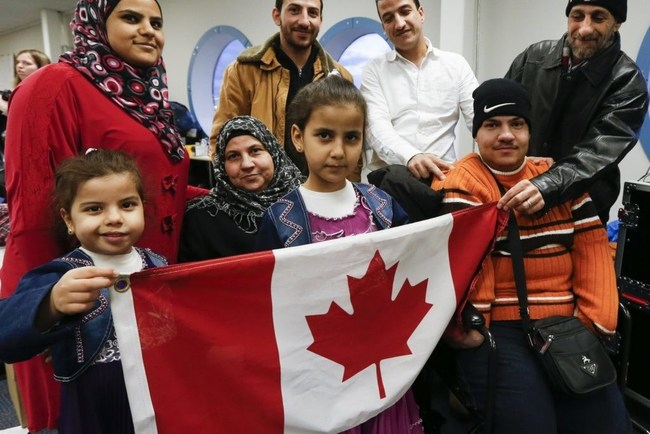 Canadian refugees