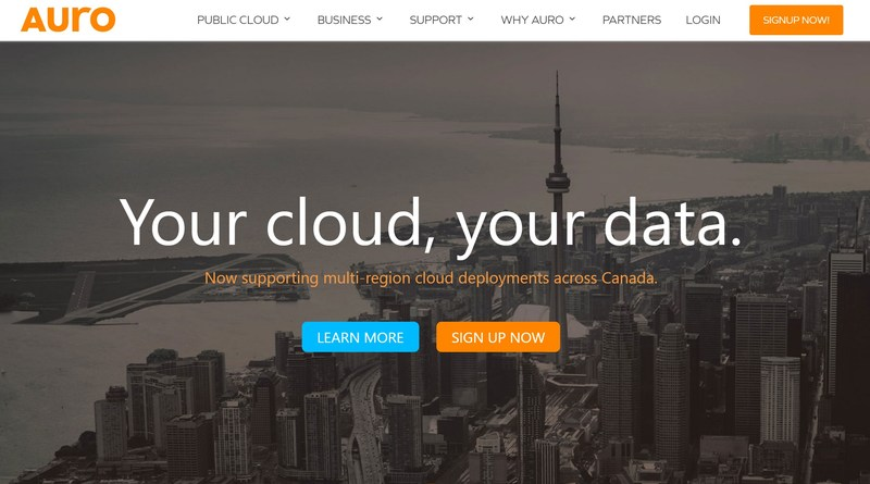 AURO Cloud Computing, a complete public cloud designed to meet the requirements of next-generation cloud-based, scale-out applications such as social apps, mobile apps, SaaS/PaaS deployments and Big Data analytics.