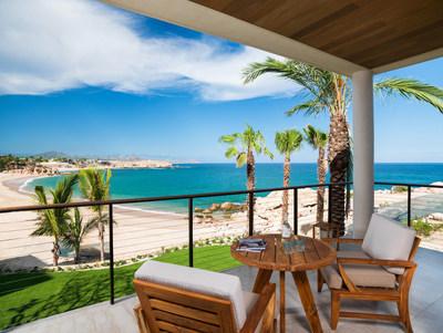 Ocean View Guest Room Terrace at Chileno Bay Resort & Residences, Los Cabos
