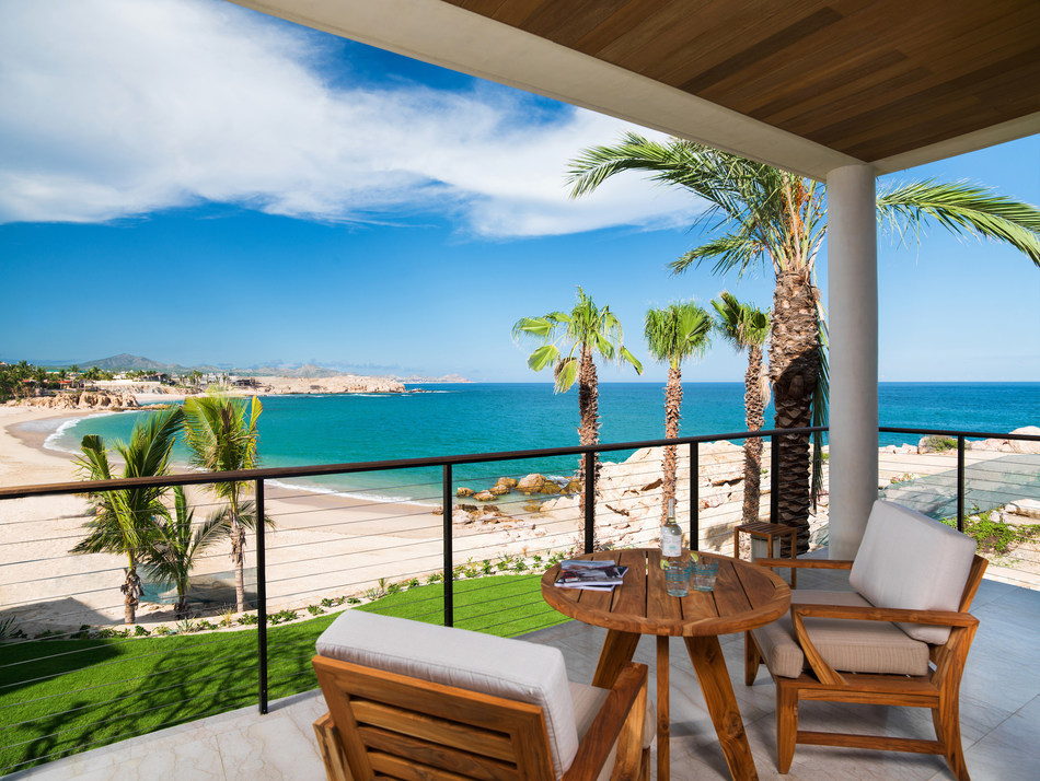 Ocean View Guest Room Terrace at Chileno Bay Resort & Residences, Los Cabos