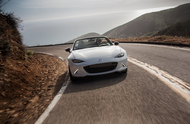 2017 Mazda MX-5 Miata Soft Top Arrives in Showrooms this Month, Retaining Unbeatable Performance Value (PRNewsFoto/Mazda North American Operations)
