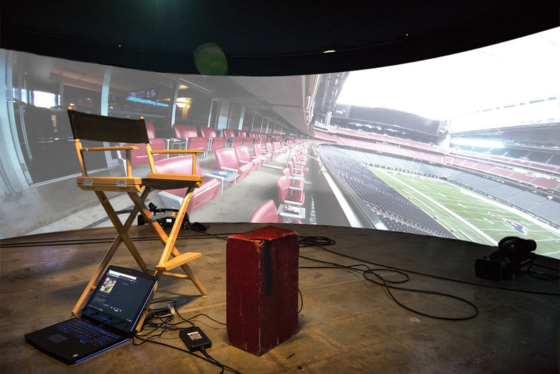 Hyundai to transport U.S. troops into the heart of the action of Super Bowl LI using custom built 360-degree immersive pods.