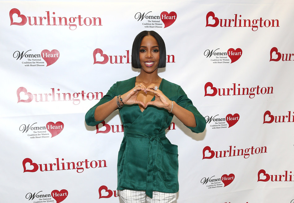 Kelly Rowland, Grammy award-winning recording artist and heart health advocate, teams up with Burlington Stores & WomenHeart to educate women about the importance of their heart health, as heart disease is the leading cause of death in women.