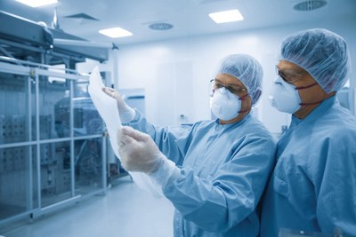 Innovative medical technology is developed in clean rooms