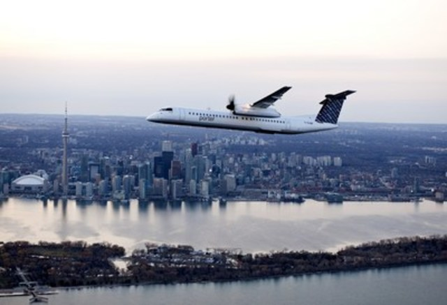 Porter Escapes packages are paired exclusively with Porter Airlines flights, making quick and convenient urban getaways possible, right from downtown Toronto. (CNW Group/Porter Airlines Inc.)
