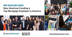 NMP Magazine Names New American Funding a Top Mortgage Employer in America
