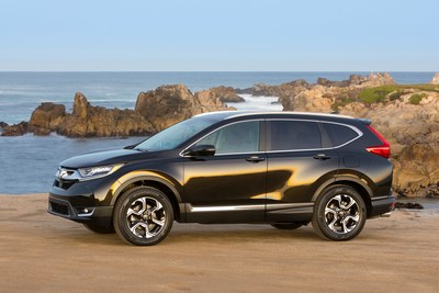 Honda continued to set new sales records in January, with the all-new 2017 CR-V leading the way. (PRNewsFoto/American Honda Motor Co., Inc.)