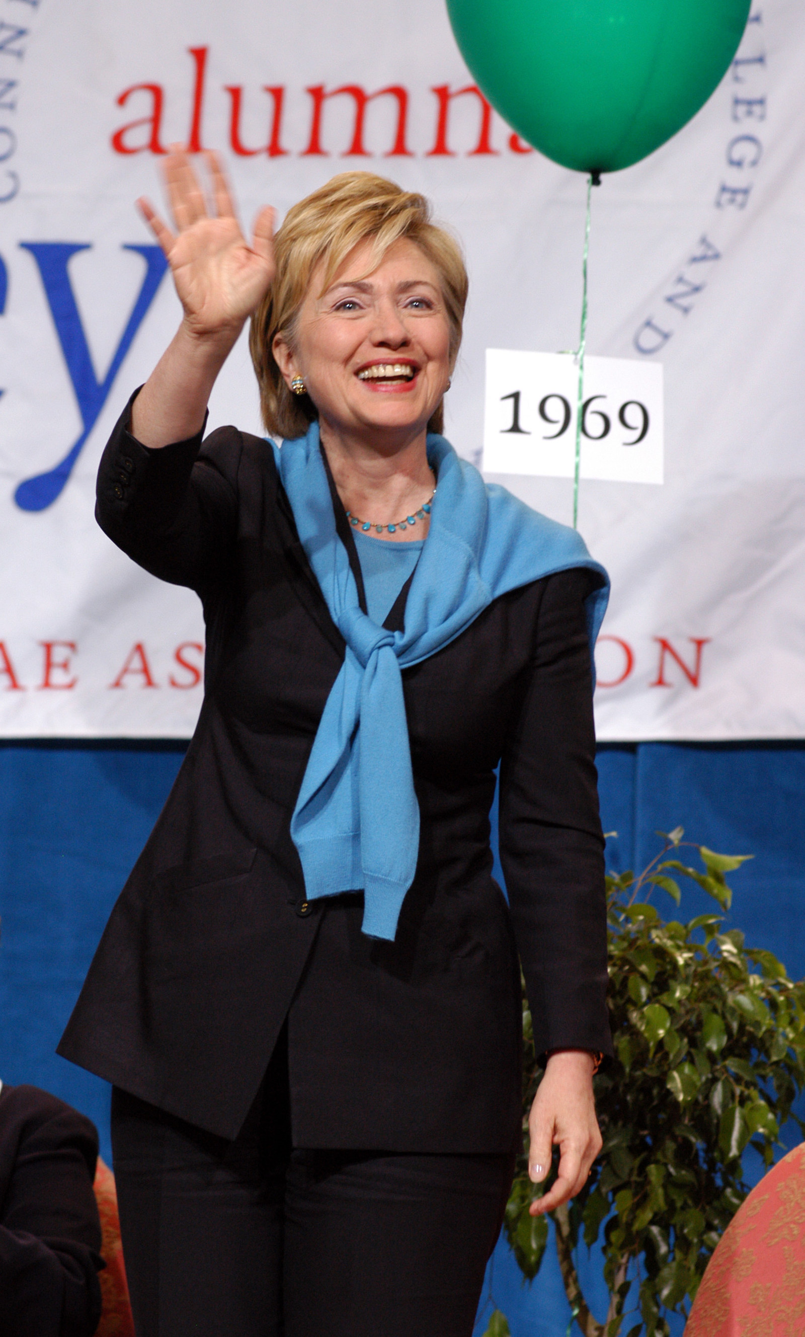 Hillary Rodham Clinton, Wellesley College Class of 1969