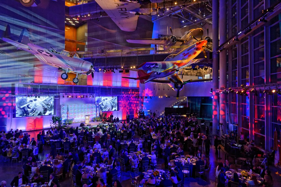The National WWII Museum's US Freedom Pavilion: The Boeing Center where the American Spirit Awards gala will take place.