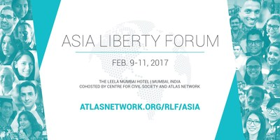 Asia Liberty Forum, Feb. 9-11, 2017 in Mumbai, India, sponsored by Atlas Network with organizing host the Centre for Civil Society (CCS), is a gathering of the best and the brightest in Asia to discuss and exchange solutions that promote liberty and free-market reforms in the region. Major sponsorship generously provided by the John Templeton Foundation.