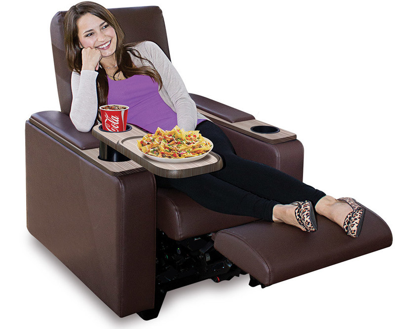 Luxury Electric Recliner Seating (PRNewsFoto/Cinergy Entertainment Group...)