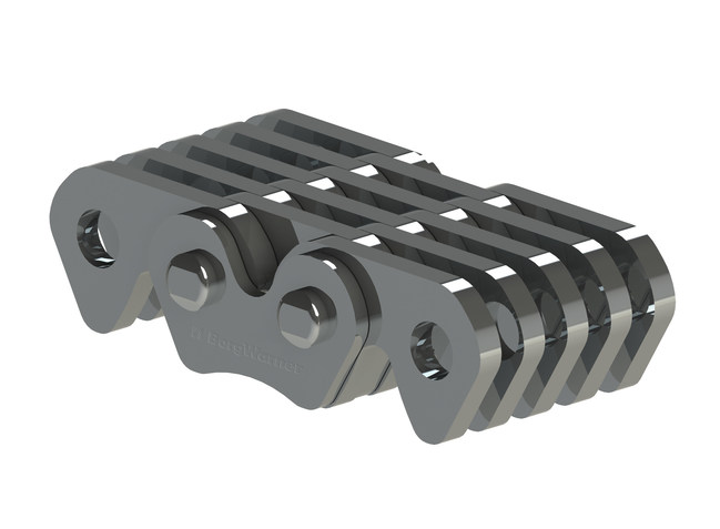 Designed for durable performance, BorgWarner's silent chains transfer power from the electric motor to the transmission in Suzuki's Solio hybrid vehicle. BorgWarner also supplies the silent timing chain for the 1.2-liter gasoline engine.