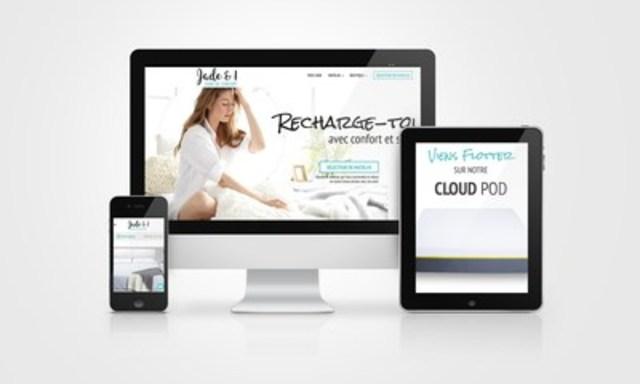 Jade & I - Innover en achetant son matelas en ligne (Groupe CNW/jade.boutique)
